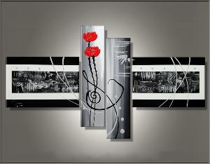 Tableaux design Silver Roses