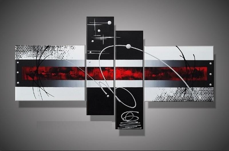 Tableaux design peinture eva jekins - Tableau en plusieurs parties ...
