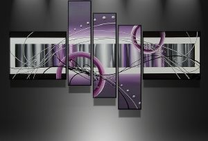 Tableaux design Purpple Luxya