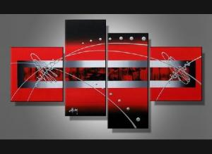 Tableaux Design All red