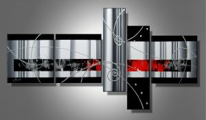 Tableau design black red